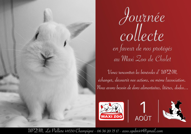 Collecte Maxi Zoo Aout 2020
